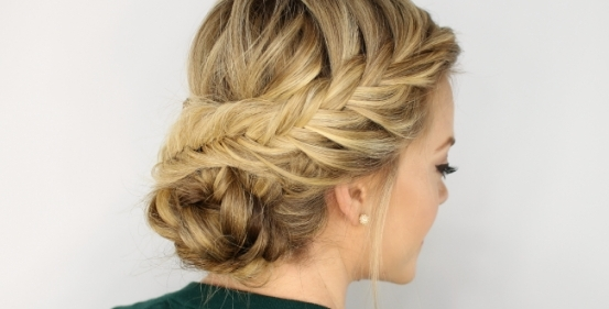 Wedding Hairstyle Low Updo: Fabulous Low Updo Wedding Hairstyles In Low Updo Wedding Hairstyles (View 13 of 15)