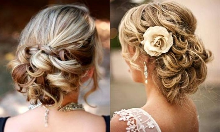 Wedding Hairstyle: Try Romantic Side Bun This Time (View Pics In Side Bun Wedding Hairstyles (View 9 of 15)