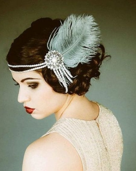 Wedding Hairstyles 1920S Era Awesome 1920S Hair Bands Yes Athraluxe Pertaining To 1920S Era Wedding Hairstyles (View 3 of 15)