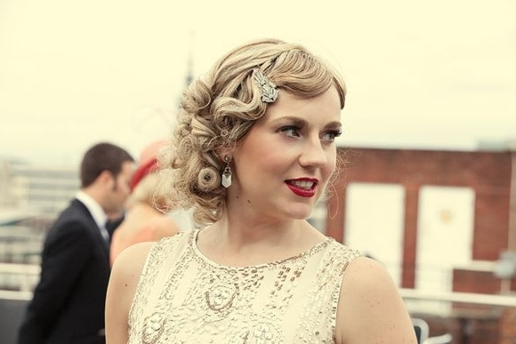 Wedding Hairstyles 1920S Era New 1920 S Hairstyles In A Glance Glamy For 1920S Era Wedding Hairstyles (View 2 of 15)