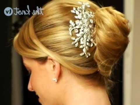 Wedding Hairstyles: 6 Hot Hair Accessories – The Knot – Youtube For Knot Wedding Hairstyles (View 7 of 15)