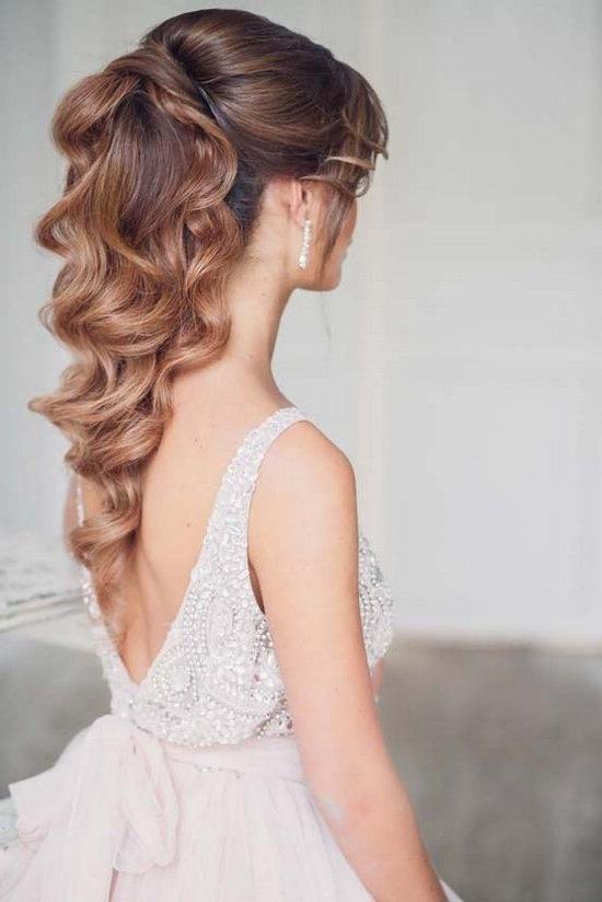 Wedding Hairstyles : Art4Studio Long Ponytail Wedding Hairstyles For Wedding Hairstyles For Long Ponytail Hair (View 4 of 15)