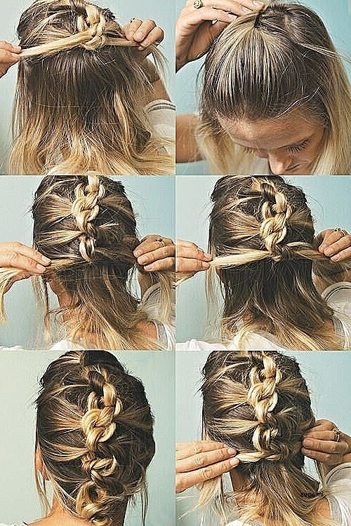 Wedding Hairstyles: Awesome Easy Wedding Hairstyles For Medium Intended For Diy Wedding Hairstyles For Medium Length Hair (View 15 of 15)