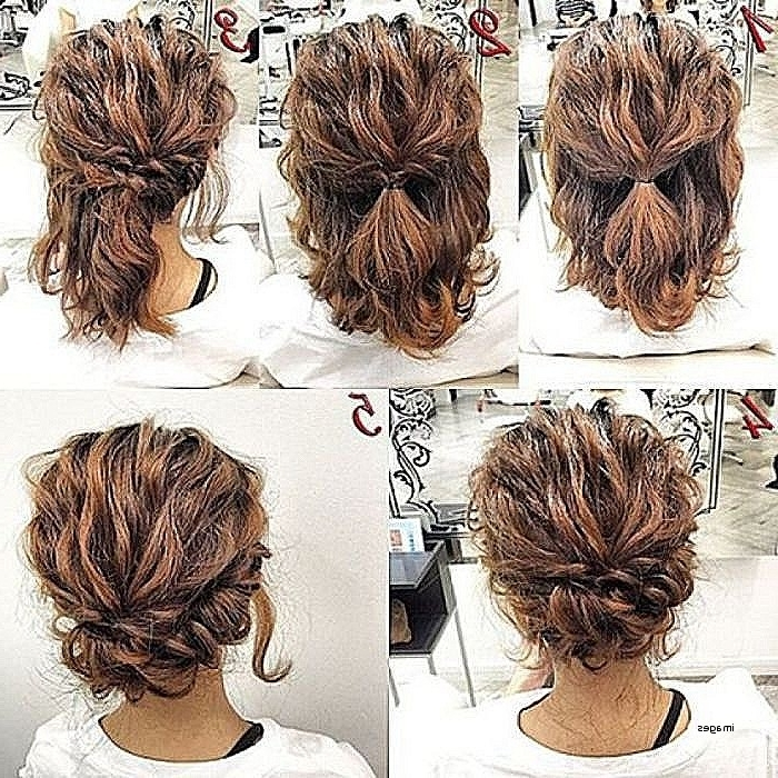 Wedding Hairstyles: Awesome Easy Wedding Hairstyles For Medium Regarding Simple Wedding Hairstyles For Shoulder Length Hair (View 8 of 15)