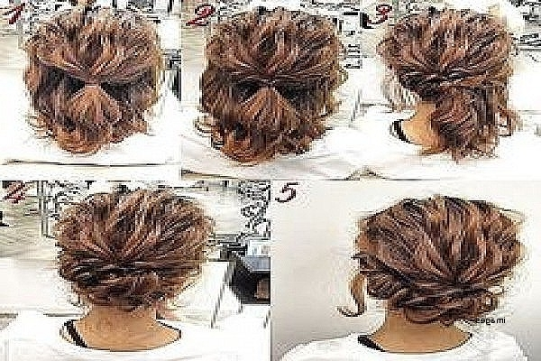 Wedding Hairstyles: Awesome Short Hair Half Up Half Down Hairstyles Inside Wedding Hairstyles For Short Length Hair Down (View 15 of 15)