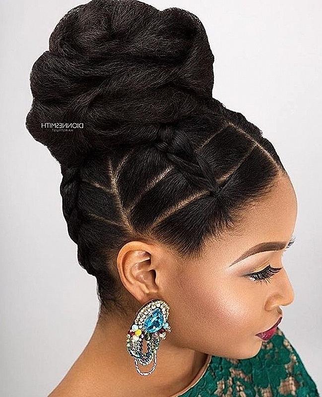 Wedding Hairstyles Beautiful African American Braided Hairstyles With Regard To African Wedding Braids Hairstyles (View 14 of 15)