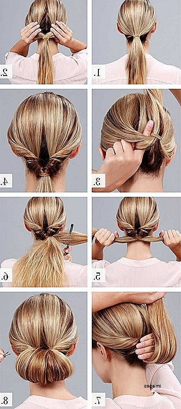 Wedding Hairstyles: Beautiful Easy Hairstyles For Wedding Guests To Pertaining To Diy Wedding Guest Hairstyles (View 7 of 15)