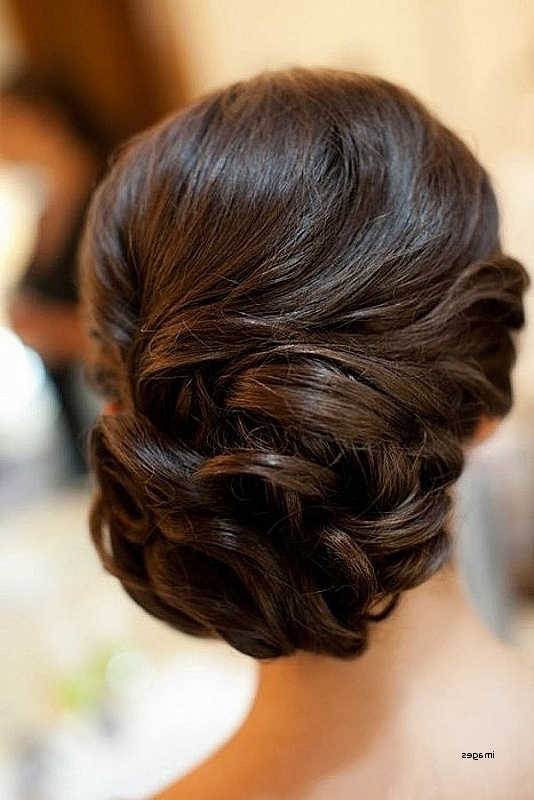 Wedding Hairstyles: Beautiful Low Bun Hairstyles For Indian Weddings Within Wedding Hairstyles For Long Low Bun Hair (View 8 of 15)