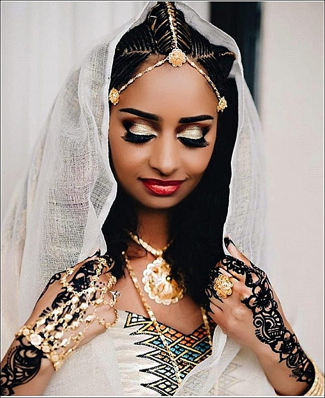 Wedding Hairstyles: Best Of Ethiopian Wedding Hairstyle Ethiopian In Ethiopian Wedding Hairstyles (View 2 of 15)