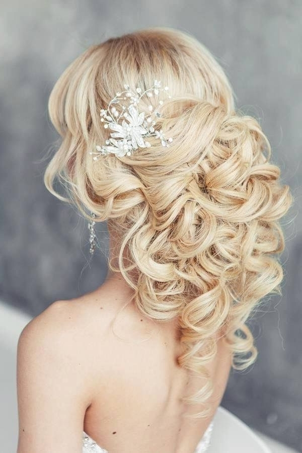 Wedding Hairstyles Blonde Long Hair Unique Bridal Hairstyles Wedding With Wedding Hairstyles For Blonde (View 14 of 15)