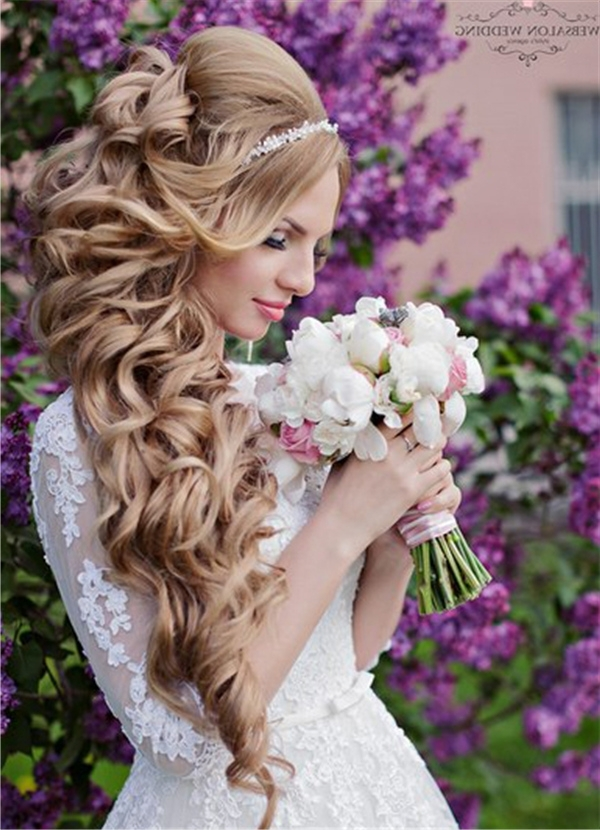 Wedding Hairstyles | Deer Pearl Flowers – Part 6 Intended For Wedding Hairstyles For Long Hair With Crown (View 4 of 15)