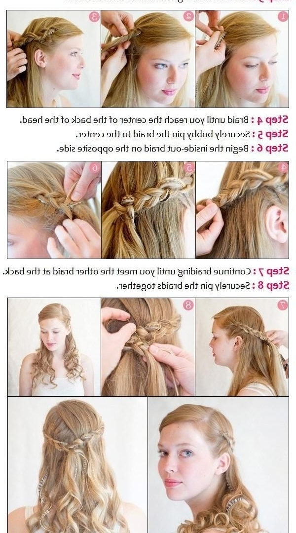 Wedding Hairstyles Diy Hair Half Up Best Bridal At Home Tutorial With Regard To Wedding Hairstyles At Home (View 12 of 15)