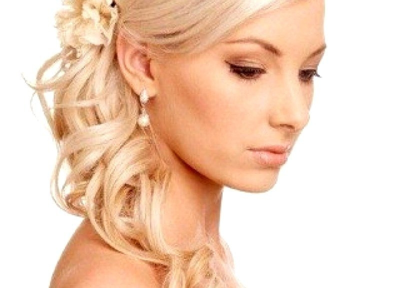 Wedding Hairstyles Down For Thin Hair | Wedding Event Within Wedding Hairstyles For Very Thin Hair (View 11 of 15)