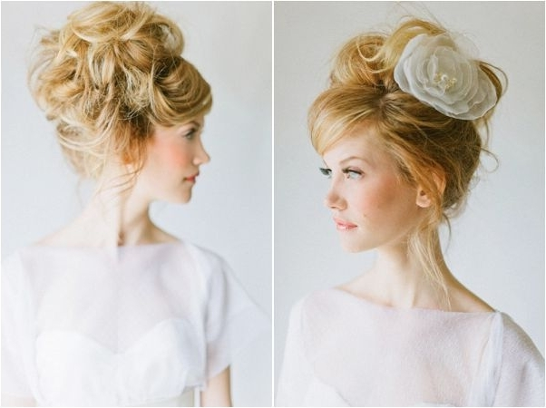 Wedding Hairstyles | Elegant Bridal Updos Within High Updos Wedding Hairstyles (View 12 of 15)