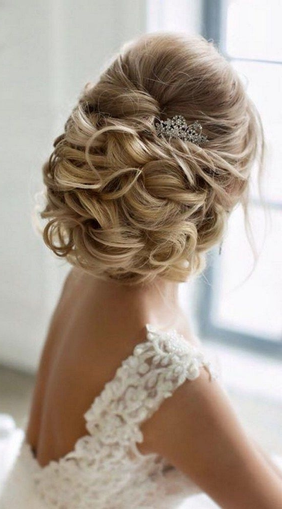 Wedding Hairstyles : Elstile Twisted Wedding Updo / Www (View 8 of 15)