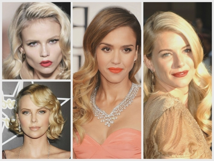 Wedding Hairstyles For A Round Face Shape – Hair World Magazine Intended For Wedding Hairstyles To Make Face Thinner (View 12 of 15)