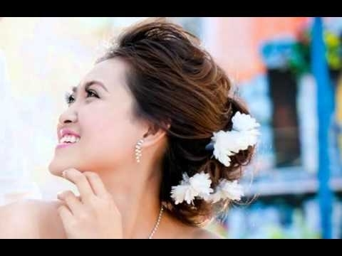 Wedding Hairstyles For A Round Face – Youtube Regarding Wedding Hairstyles For Long Hair With Round Face (View 11 of 15)