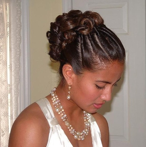 Wedding Hairstyles For African Hair – Hairstyle For Women & Man Inside Wedding Hairstyle For Short African Hair (View 7 of 15)