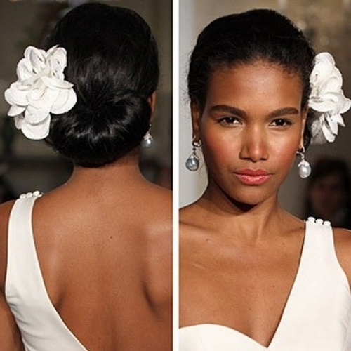 Wedding Hairstyles For Black Women – 20 Fabulous Wedding Hairstyles For Wedding Hairstyles For Black Woman (View 10 of 15)
