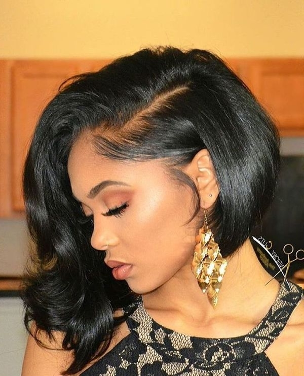 Wedding Hairstyles For Black Women, African American Wedding Haircuts In Black Wedding Hairstyles (View 13 of 15)