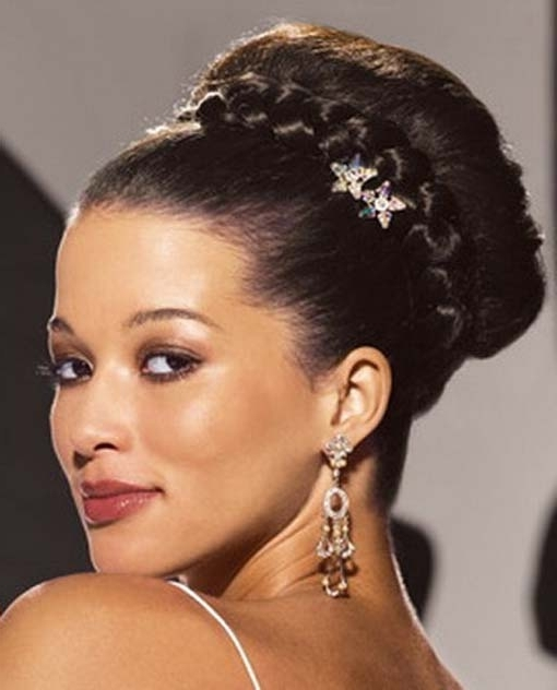 Wedding Hairstyles For Black Women That Will Turn Heads Intended For Wedding Hairstyles For Black Woman (View 12 of 15)