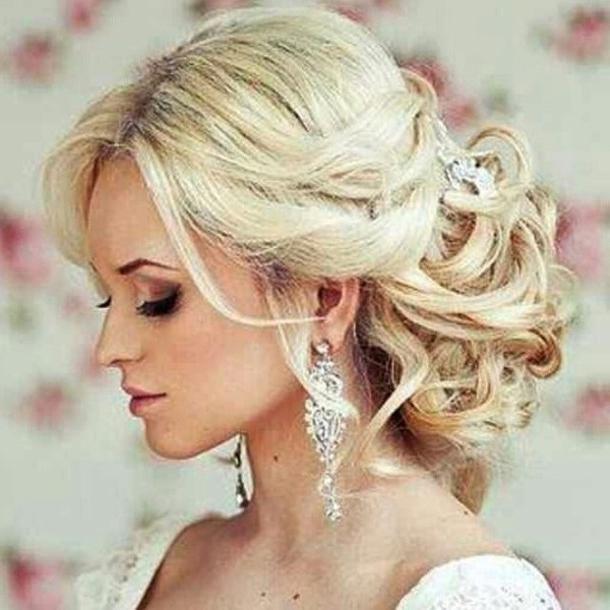 Wedding Hairstyles For Blonde Hair | Wedding Pertaining To Wedding Hairstyles For Blonde (View 9 of 15)