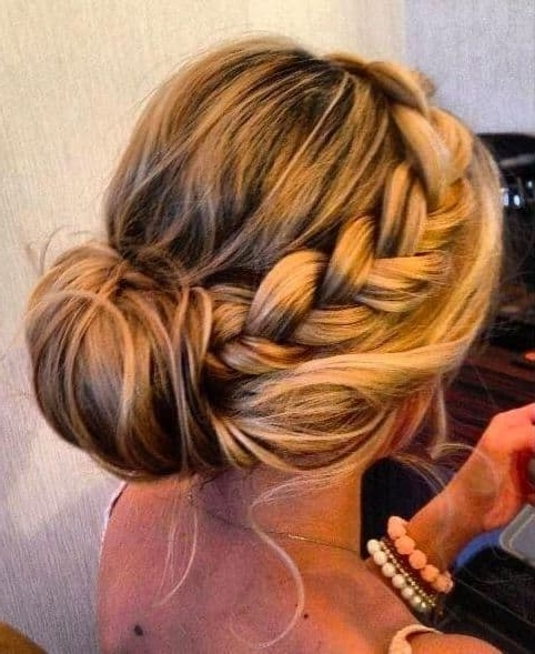 Wedding Hairstyles For Bridesmaids Best Photos – Cute Wedding Ideas Inside Wedding Hairstyles For Bridesmaids (View 14 of 15)