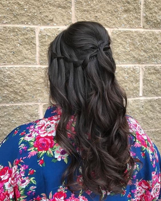 Wedding Hairstyles For Every Hair Type | A Practical Wedding For Wedding Hairstyles For Long Dark Hair (View 15 of 15)