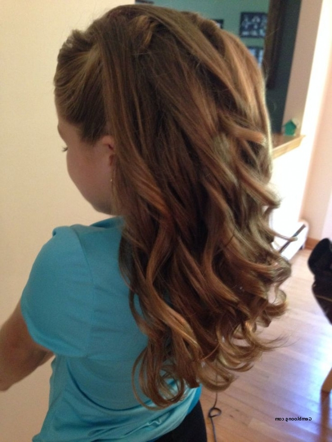 Wedding Hairstyles For Junior Bridesmaids Beautiful Half Up Half With Junior Wedding Hairstyles (View 2 of 15)