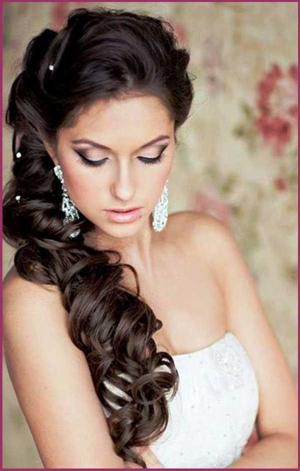 Wedding Hairstyles For Long Black Hair With Wedding Hairstyles For Long Black Hair (View 14 of 15)