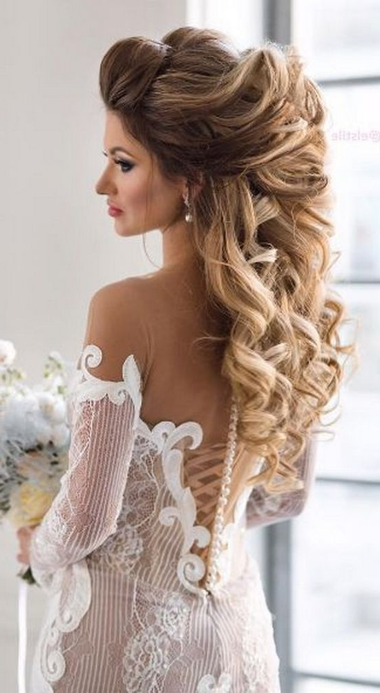 Wedding Hairstyles For Long Blonde Hair – Wedding Hairstyles For Pertaining To Wedding Hairstyles For Really Long Hair (View 7 of 15)