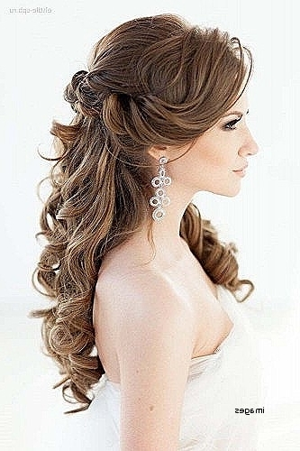 Wedding Hairstyles For Long Curly Hair Half Up Half Down Lovely For Wedding Hairstyles For Long Down Curls Hair (View 11 of 15)