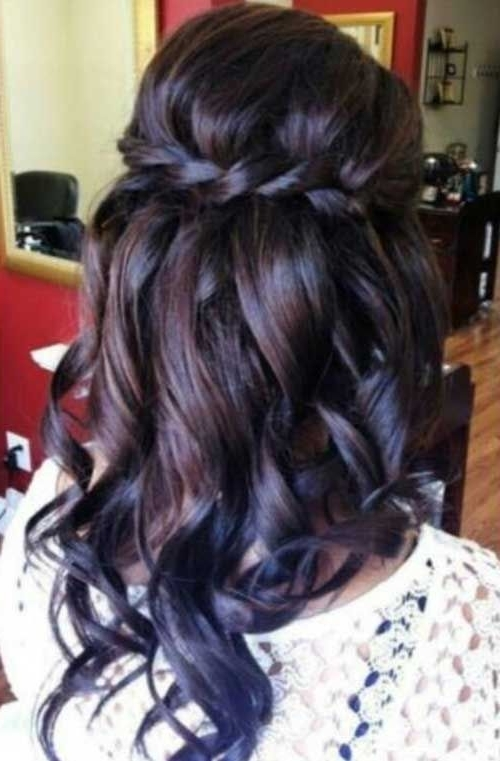 Featured Photo of Wedding Hairstyles For Long Dark Hair
