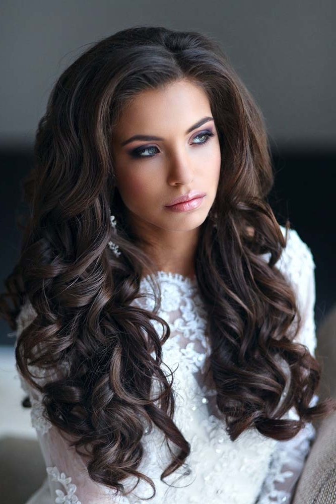 Wedding Hairstyles For Long Hair (13) – Glamorous Hairstyles Within Glamorous Wedding Hairstyles For Long Hair (View 11 of 15)
