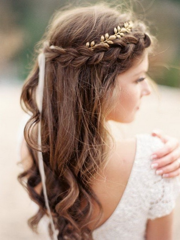 Wedding Hairstyles For Long Hair: 30 Most Fabulous Inspirations Regarding Wedding Hairstyles For Long Hair With Headband (View 13 of 15)