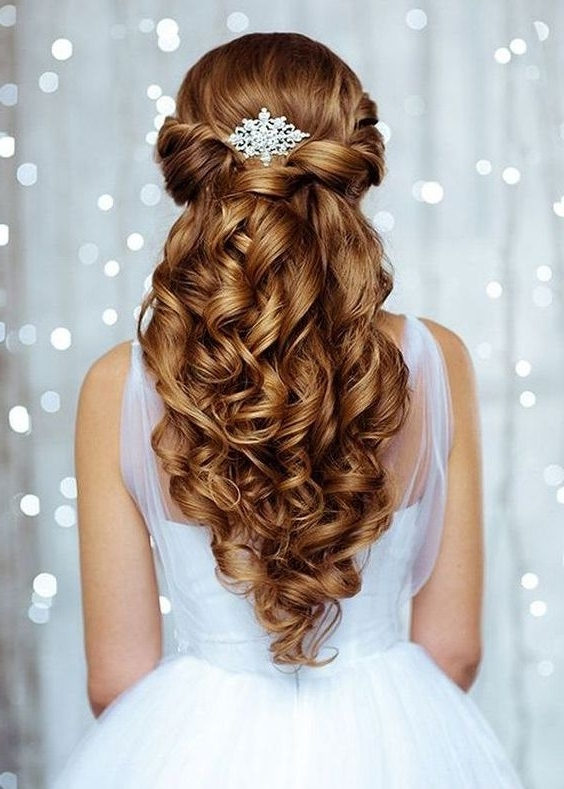 Wedding Hairstyles For Long Hair – A Perfect Hairstyle For The Most Pertaining To Wedding Hairstyles That Last All Day (View 12 of 15)