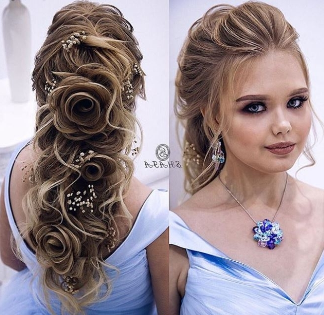 Wedding Hairstyles For Long Hair – Evesteps Pertaining To Wedding Hairstyles With Long Hair (View 7 of 15)