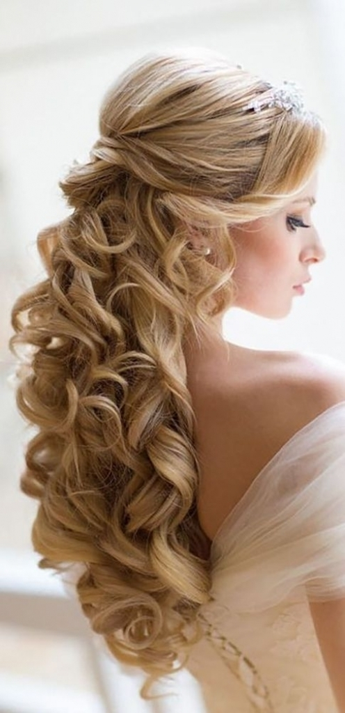 Wedding Hairstyles For Long Hair Tied Up | Female Hairstyle With Regard To Tied Up Wedding Hairstyles (View 7 of 15)