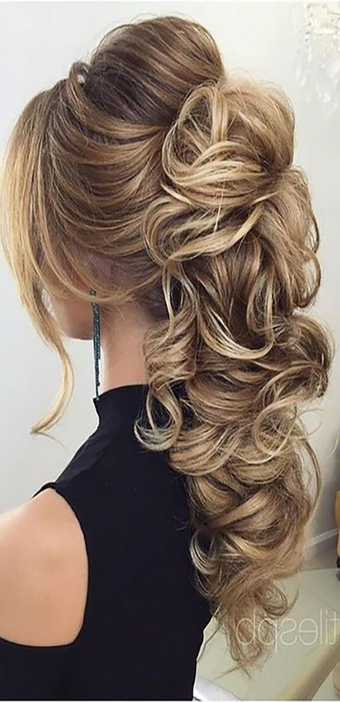 Wedding Hairstyles For Long Hair Very Easily Be Varied | Home Design Throughout Wedding Hairstyles For Long Layered Hair (View 6 of 15)