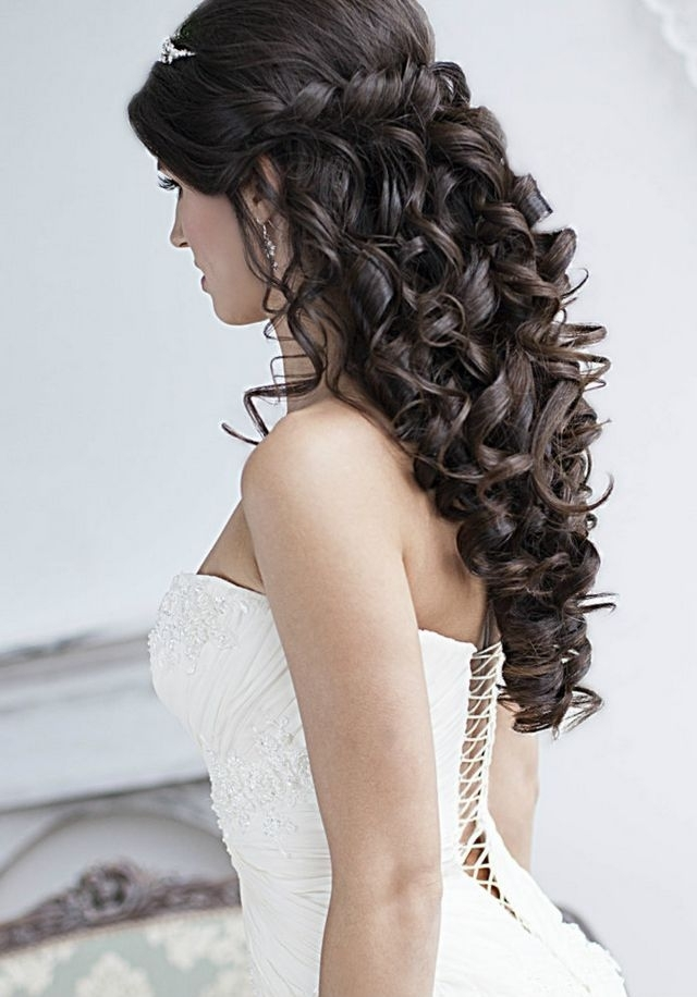Wedding Hairstyles For Long Hair Very Easily Be Varied | Home Design With Regard To Wedding Hairstyles For Long Black Hair (View 15 of 15)