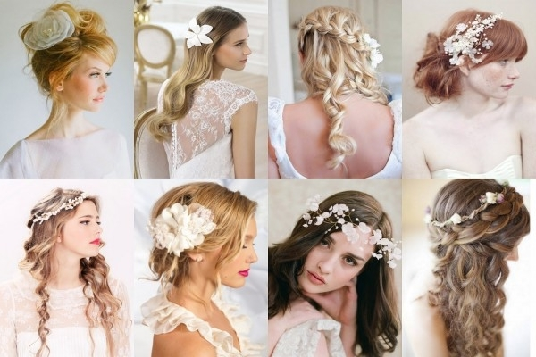Wedding Hairstyles For Long Hair With Fascinator: Latest . (View 8 of 15)