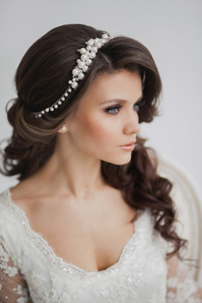 Wedding Hairstyles For Long Hair With Tiara | Wedding Ideas Throughout Wedding Hairstyles For Long Hair With Tiara (View 4 of 15)