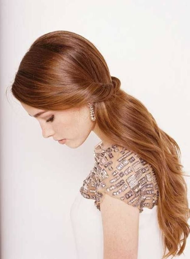 Wedding Hairstyles For Long Straight Hair | Weddings | Pinterest Within Wedding Hairstyles For Long Straight Hair (View 3 of 15)