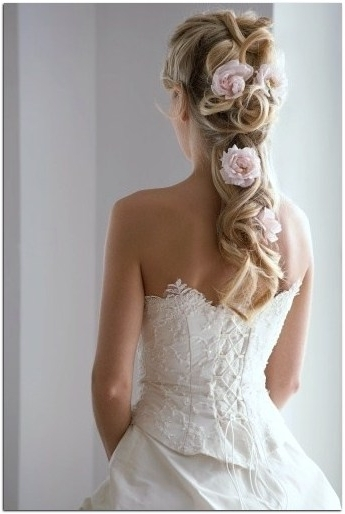 Wedding Hairstyles For Long Thick Hair : Streetbass For Wedding Hairstyles For Thick Hair (View 13 of 15)