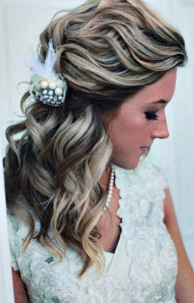 Wedding Hairstyles For Long Thin Hair – Wedding Definition Ideas Intended For Wedding Hairstyles For Long Thick Curly Hair (View 4 of 15)