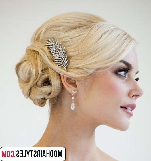 Wedding Hairstyles For Medium Length Hair Inspiration – Margusriga Regarding Wedding Hairstyles For Medium Length With Blonde Hair (View 2 of 15)
