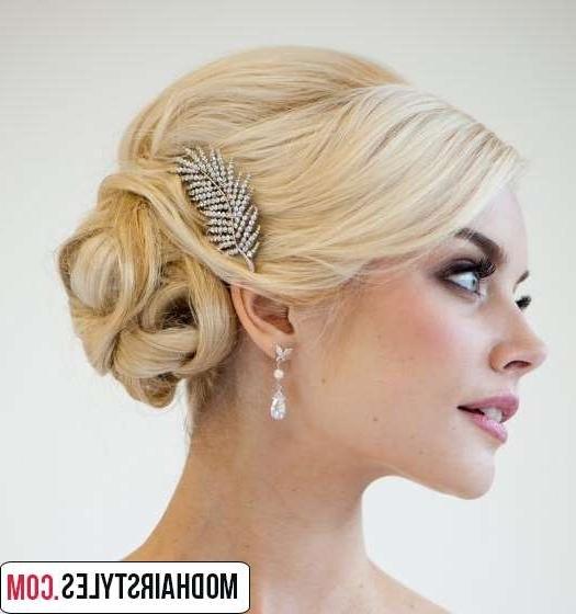 Wedding Hairstyles For Medium Length Hair Inspiration – Margusriga Regarding Wedding Hairstyles For Medium Length With Blonde Hair (View 15 of 15)