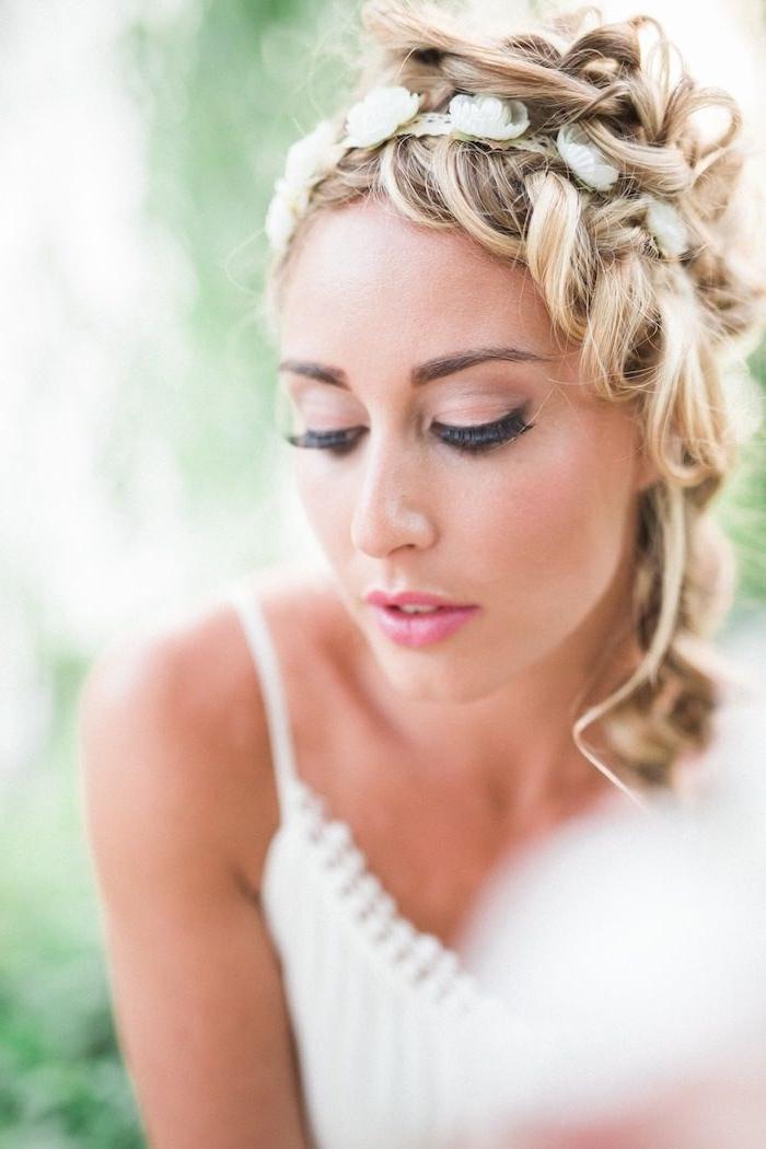 Wedding Hairstyles For Medium Length Hair – Modwedding Intended For Wedding Hairstyles With Medium Length Hair (View 7 of 15)