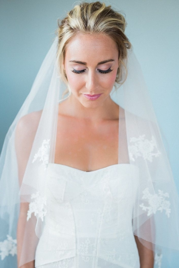 Wedding Hairstyles For Medium Length Hair – Modwedding Pertaining To Wedding Hairstyles For Shoulder Length Hair With Veil (View 5 of 15)