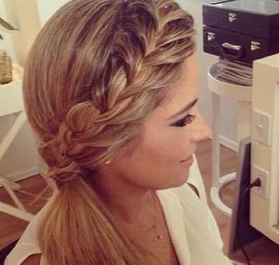 Wedding Hairstyles For Medium Length Hair Side Ponytail | Hairstyles For Wedding Hairstyles For Medium Length Hair With Side Ponytail (View 3 of 15)